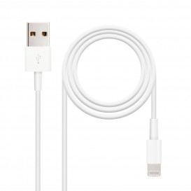 Cable USB LIGHTNING IPHONE 2m