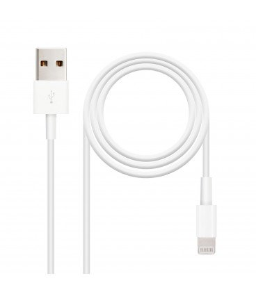 Cable USB LIGHTNING IPHONE 1m