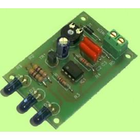 Emisor infrarrojo largo alcance 12V RJ4