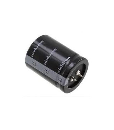 150uF 450Vdc Condensador Electrolitico Baja Impedancia  25x30mm 2pin