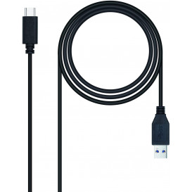 Cable USB 3.1 A a USB-C 10Gbps 0,5m