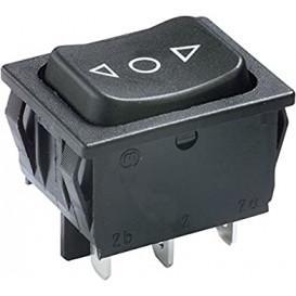 Interruptor Basculante (ON)-OFF-(ON) 6A250Vac