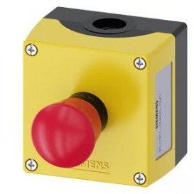 Interruptor Parada Emergencia SPST-NC 10A 500V
