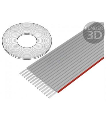 Cable Plano Informatica 20 Vias Raster 1mm 20x28AWG