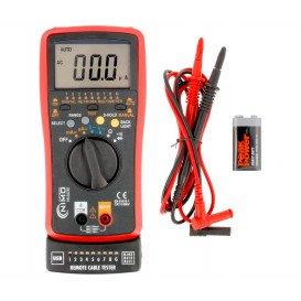Tester Red y Multimetro Comprobador USB A/B