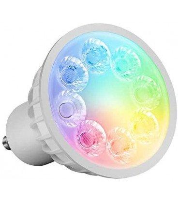 Bombilla LED GU10  4W RGB+CCT RF 2,4Ghz