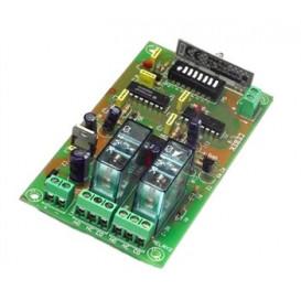 Receptor 2 Canales Biestable 12V TL8 CEBEK