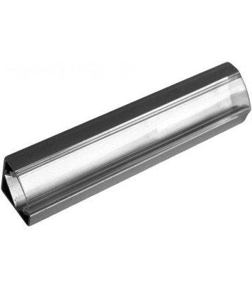Perfil LED Esquina Difusor Transparente 100x18,4mm