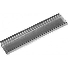 Perfil LED Empotrar Difusor Transparente 100x23mm