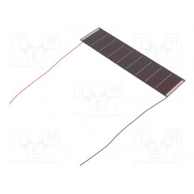 Fotocélula Solar 150x37,5x1,8mm 304mW  60,8mA  5,9V