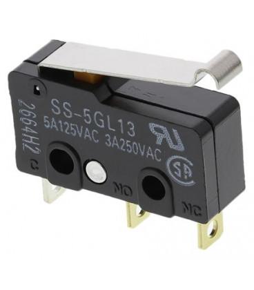 Microrruptor Palanca simulación Rueda 15,8mm