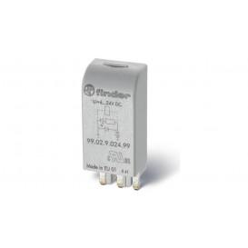 Módulo de indicación de bobina y supresión de EMC