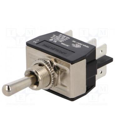 Interruptor Palanca Bipolar (ON)-OFF-(ON) 16A/250Vac