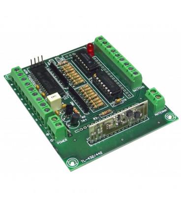 Emisor RF G3 16 canales 100 mts TL432