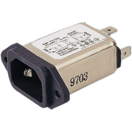 Filtro de red 230V AC 6Amp