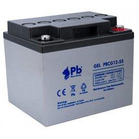 Bateria PLOMO 12V 50Ah GEL CICLICA Energía SOLAR