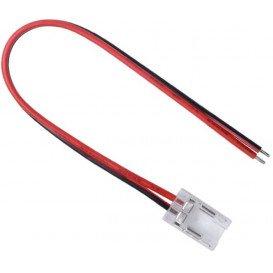 Conector Invisible Tira COB 8mm con cable