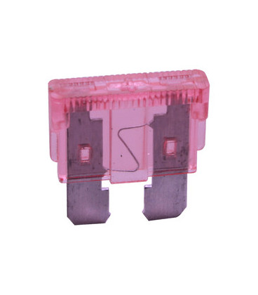 Fusible Plano 4Amp Rosa 19x19mm