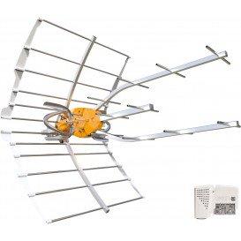 Antena UHF ELLIPSE C21-C48 38dB con Alimentador LTE700 INDIVIDUAL