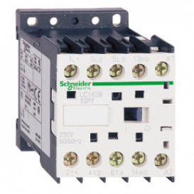 Contactor Carril DIN y Panel 230Vac 9A 3 Polos 4 kW
