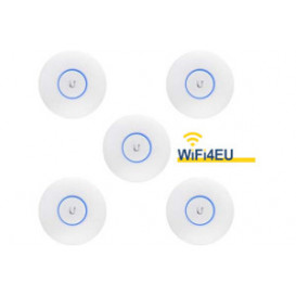 Pack 5 Punto Acceso Wifi AC Dual Lite UniFi