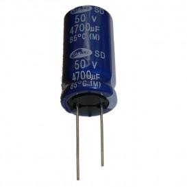 4700uF 50Vdc Condensador Electrolitico 22x41mm Radial