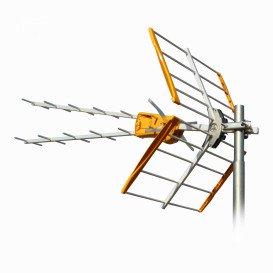 Antena UHF V ZENIT C21-C48 15dB LTE700 Individual
