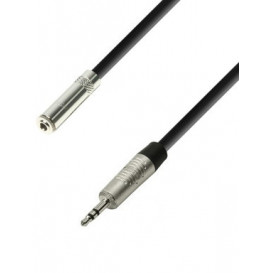 Cable Prolongador JACK 3,5mm ST Macho-Hembra longitud 3m
