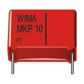 Condensador Poliester 22nF 630Vdc R15mm 22K