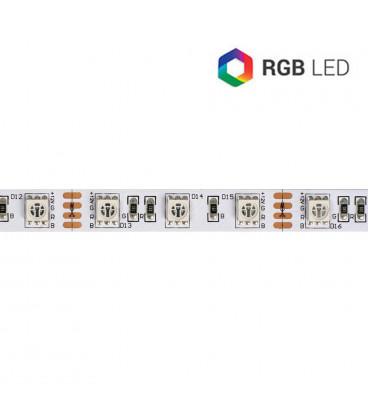 Tira LED 5mts 12V 72W IP20 RGB 60LED/m 5050