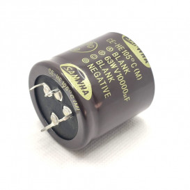Condensador Electrolitico 10000uF 63V 105ºC medidas 40x40mm