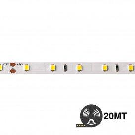 Tira LED 2700K 24V 7,2W/m 60LED/m SMD2835 IP20 20m