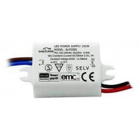Fuente Alimentación LEDS 0,5-10Vdc 350mA 3W IP65