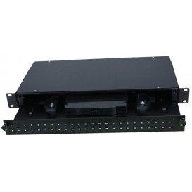 Bandeja Fibra Optica Extraible 19in 1U 24 SC-DUPLEX