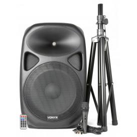 "Altavoz Amplificado 15"" USB/SD/MP3 600Wmax SPS152"
