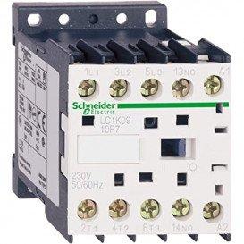 Contactor 3-polos NO x3 Contactos auxiliares NO 380VCA 9A
