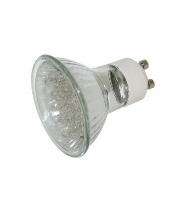 Bombilla LED GU10 1,5W 20Led Blanco DH
