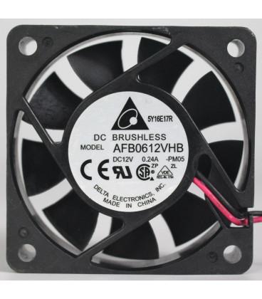 Ventilador 12Vdc 60x60x15mm 2,88W 2 Cables BOLAS