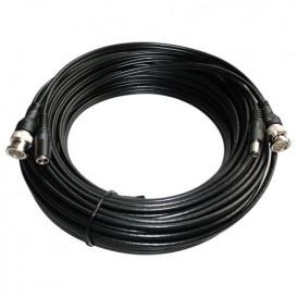Cable BNC con conector de alimentacion 20m