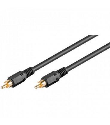 Cable RCA 1 Macho a RCA 1 Macho Video RG59 5m