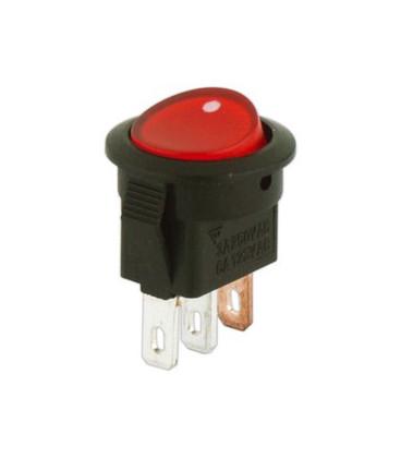 Interruptor Basculante Luminoso 1Cto 3A ON-OFF