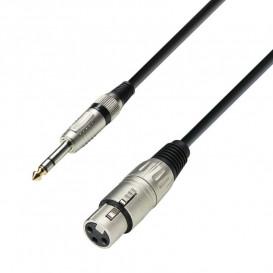 Cable XLR Hembra a JACK 6.3 Macho ST 1m