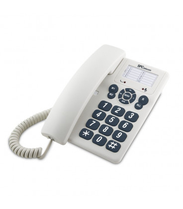 Telefono Fijo Sobremesa 3602 BLANCO SpcTELECOM
