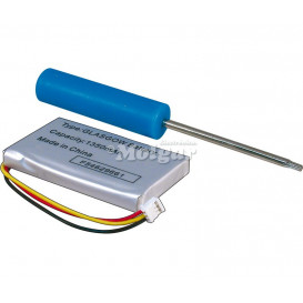 Bateria GPS 3,7V/1350MAH TOMTOM ONE 3,4x5x0,7mm