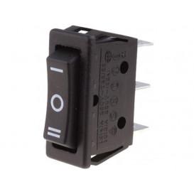 Interruptor Basculante 1Cto 3Posiciones ON-OFF-ON