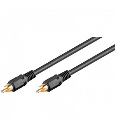Cable RCA 1 Macho a RCA 1 Macho Video RG59 15m