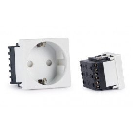 Panel Enchufe Bipolar 250V para cajas Fonestar