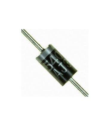 Diodo Rectificador 1000V 3Amp DO201 1N5408
