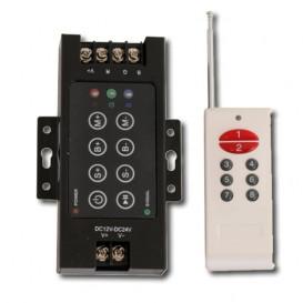 Controlador Tira LED RGB 216W con mando