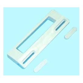 Tirado puerta Frigorifico Universal color Blanco 18,8x6,5cm Kit
